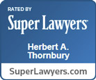 Super Lawyers Badge Herbert Thornbury